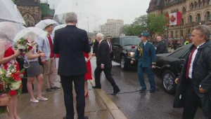 Prime Minister Harper, Governor General Johnston mark Canada Day with ceremony in Ottawa
