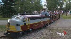 Back on track: Mini-train returns to Bowness Park after flood restoration