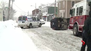 Snowy, Icy streets cause dozens of accidents