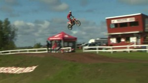 Motocross racers ride for a cure to end breast cancer