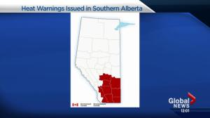 Environment Canada issues heat warning for Southern Alberta