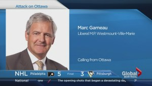 Marc Garneau speaks about Parliament Hill shooting