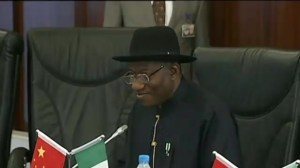 Nigerian president addresses kidnappings of girls