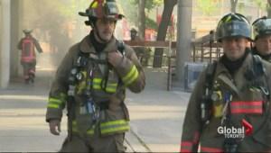Crews work to restore power at Toronto City Hall