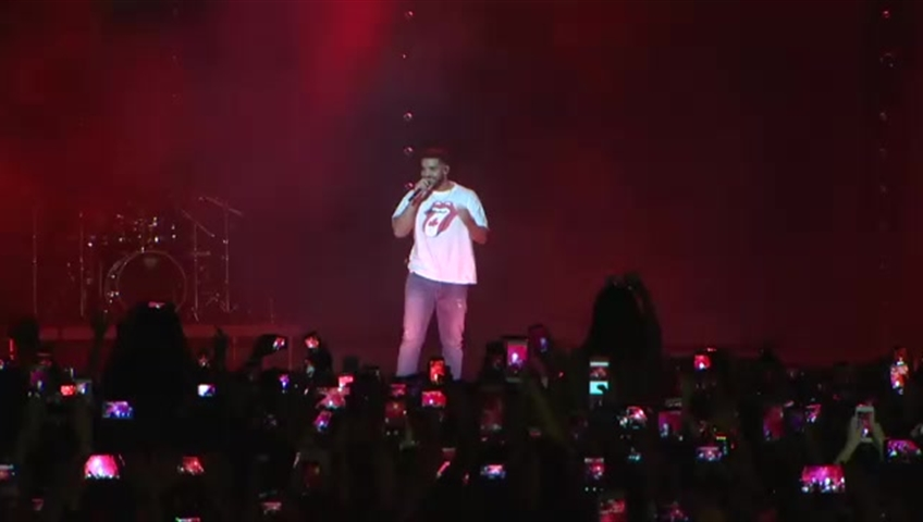 Drake surprises thousands at Nathan Phillips Square