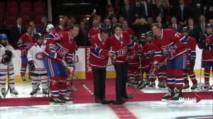 Montreal Canadiens host Trudeau, China premier for hockey game