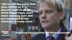 Outgoing MP Chris Alexander on election, refugees, being called a 'baby killer' and the 'hippy-trippy' Liberals