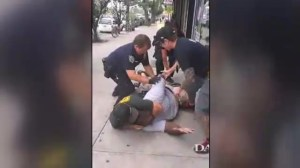 Another video surfaces of NYPD officers using chokehold on man who died later