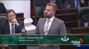 Wildrose MLA Derek Fildebrandt allowed back in caucus within days