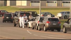 Corrections Canada officers protest slow contract negotiations