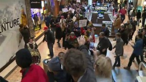 Protests around U.S. on Black Friday