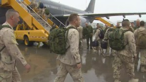 Raw Video: Troops depart Canada to fight ISIS