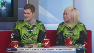 Saskatchewan Rush superheroes night