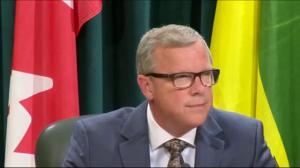 Saskatchewan Premier Brad Wall resigns