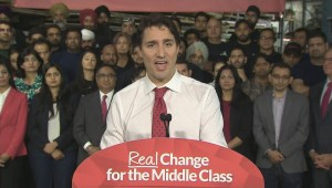 Trudeau announces Liberal's plan for change on immigration