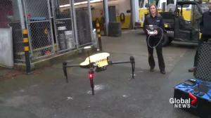 Victoria firefighters using drones in emergency situations