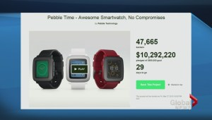 Pebble raises 10 million in 48 hours for next-gen smartwatch