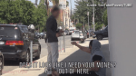 Man pretending to be homeless attempts to give money away in social experiment gone viral