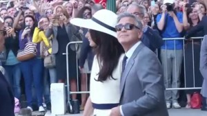 Clooney and Alamuddin tie knot again in civil ceremony
