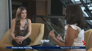 Hailee Steinfeld visits Global News Morning
