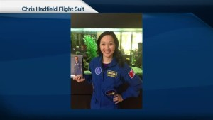 Toronto woman finds Chris Hadfield's flight suit at thrift store
