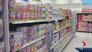 Expired infant formula concerns