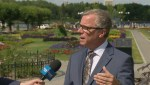 Blake Lough's interview with Premier Brad Wall