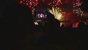 Successful first night of 2017 Celebration of Light in English Bay