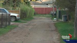 New funding scheme for back alley repairs in Edmonton
