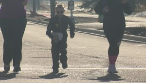WATCH: Calgary Police Half Marathon draws thousands