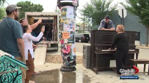 Piano presence being embraced by Edmonton community