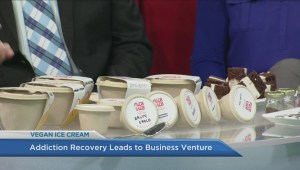 Former addict shares inspiring story about starting Canada's first vegan ice cream shop