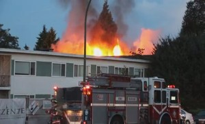 Latest on apartment fire in North Vancouver that left one dead