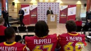 Steve Buratto named new interim coach for Calgary Dinos