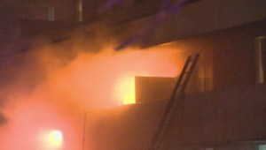 Residents rescued from 3-alarm apartment fire in North York