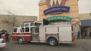 Police officer among 2 people transported to hospital after incident at mall in Calgary