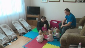 Quite a crazy ride: What it takes to raise identical quadruplets