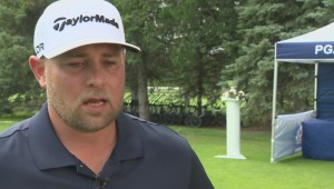 Former NHL player Marc Savard explores golf career