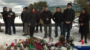 Trudeau visits La Loche after school shooting