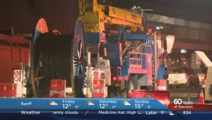 Downtown Calgary power restored