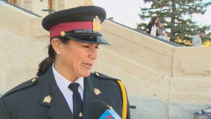 Saskatchewan remembers fallen police officers