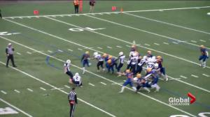 Saskatoon Hilltops down Regina Thunder 25-24, advance to PFC final