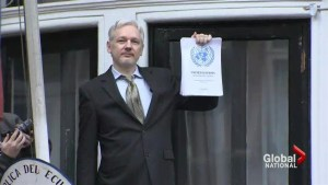 Britain, Sweden violated Assange's human rights: UN panel
