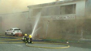 Demolition begins on Kerrisdale businesses destroyed by fire