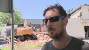 Demolition begins on Kerrisdale businesses destroyed by fire