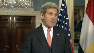 Kerry urges Russia to allow humanitarian access