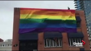Calgary landlord demands pride flag come down