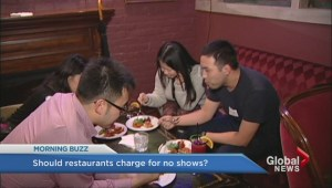 Should restaurants charge a no-show fee?