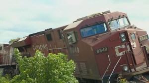 Train derailment in Toronto spills 1,200 litres of diesel fuel