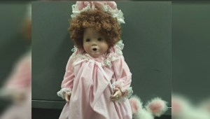 Creepy dolls left at doorsteps of girls they resemble